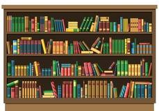 Concepto de la librería de la biblioteca de la educación libre illustration