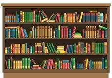 Concepto de la librería de la biblioteca de la educación stock de ilustración