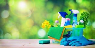 Concepto de la limpieza housecleaning imagen de archivo
