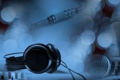 Concepto de la música de DJ foto de archivo libre de regalías