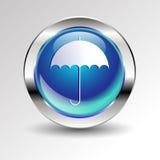 Concepto de la manija del icono de la protección de lluvia del vector ilustración del vector