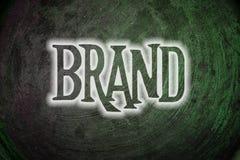 Concepto de la marca stock de ilustración