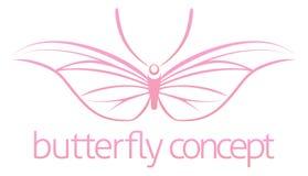 Concepto de la mariposa Fotografía de archivo