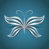 Concepto de la mariposa del vector Fotografía de archivo