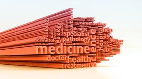 Concepto de la medicina Imágenes de archivo libres de regalías