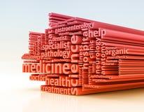 Concepto de la medicina Imagenes de archivo