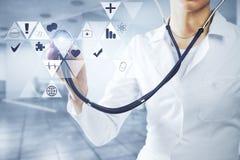Concepto de la medicina Fotos de archivo libres de regalías