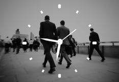 Concepto de la medida de la alarma del reloj de la gestión de tiempo fotografía de archivo libre de regalías