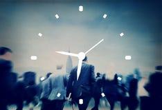 Concepto de la medida de la alarma del reloj de la gestión de tiempo imagen de archivo libre de regalías