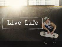Concepto de la mente del nacimiento de Live Being Nature Balance Lifestyle de la vida fotos de archivo