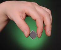 Concepto de la microelectrónica imagen de archivo