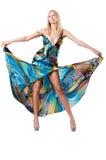 Concepto de la moda con el modelo alto Imagenes de archivo