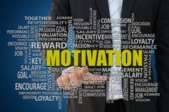 Concepto de la motivación del negocio Foto de archivo libre de regalías