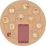 Concepto de la movilidad del negocio libre illustration