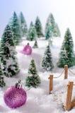 Concepto de la Navidad Fotografía de archivo