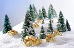 Concepto de la Navidad Foto de archivo libre de regalías