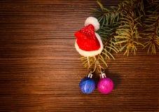 Concepto de la Navidad - diseño de tarjeta del Año Nuevo Fotografía de archivo libre de regalías