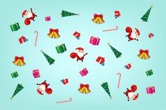 Concepto de la Navidad y del festival de la Feliz Año Nuevo Imagenes de archivo