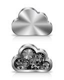 Concepto de la nube Foto de archivo libre de regalías