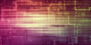 Concepto de la nueva tecnología ilustración del vector