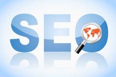 Concepto de la optimización del Search Engine ilustración del vector