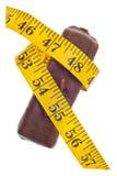 Concepto de la pérdida de peso de la diabetes Foto de archivo