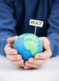 Concepto de la paz Fotografía de archivo