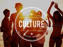 Concepto de la pertenencia étnica de la creencia de las aduanas de la cultura Fotografía de archivo