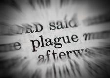 Concepto de la plaga Foto de archivo
