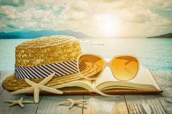 Concepto de la playa Imágenes de archivo libres de regalías
