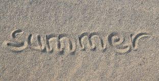 Concepto de la playa del verano Imagen de archivo libre de regalías