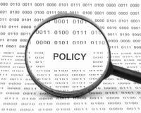 Concepto de la política imagenes de archivo