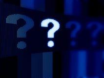 Concepto de la pregunta Imagen de archivo