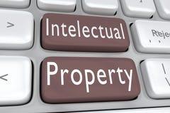 Concepto de la propiedad intelectual libre illustration