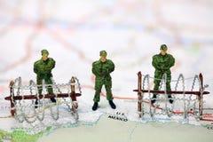 Concepto de la protección de la frontera.
