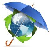 Concepto de la protección del medio ambiente Imagen de archivo