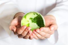 Concepto de la protección del medio ambiente Foto de archivo libre de regalías