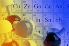 Concepto de la química Fotografía de archivo