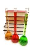 Concepto de la química con los tubos Fotografía de archivo