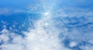 Concepto de la red de computación de la nube Protección de datos Base de datos y servidores imagenes de archivo