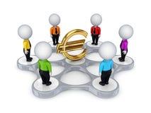 Concepto de la red de Bisiness. Fotografía de archivo libre de regalías