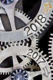Concepto de la rueda del metal Fotos de archivo libres de regalías