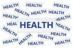 Concepto de la salud imagen de archivo