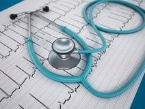 Concepto de la salud del corazón Imagen de archivo