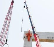 Concepto de la seguridad de Building Construction Engineer del arquitecto fotografía de archivo libre de regalías