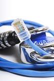 Concepto de la seguridad de la red Imagenes de archivo