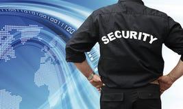 Concepto de la seguridad del Internet Fotografía de archivo libre de regalías