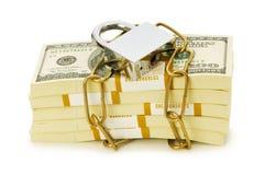 Concepto de la seguridad financiera imágenes de archivo libres de regalías