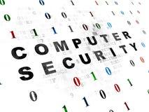 Concepto de la seguridad: Seguridad informática en Digitaces Imágenes de archivo libres de regalías