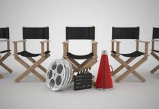 Concepto de la silla de los directores Fotos de archivo libres de regalías